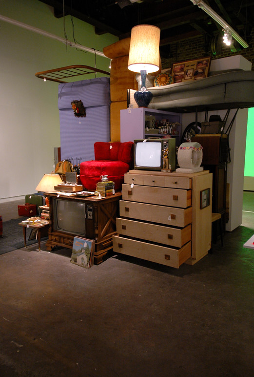 The installation in the exhibition.