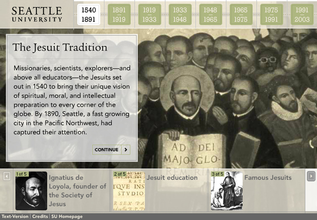 The Jesuit tradition introduction.