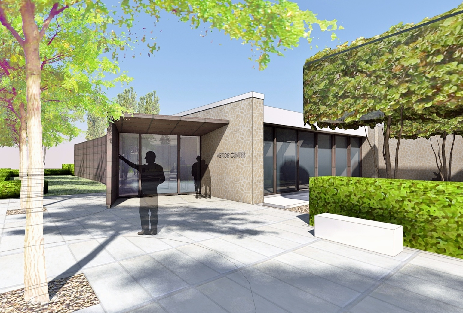 Rome-Sicily visitor center rendering
