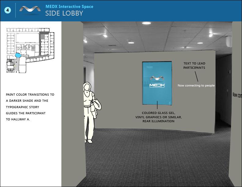 Side lobby.