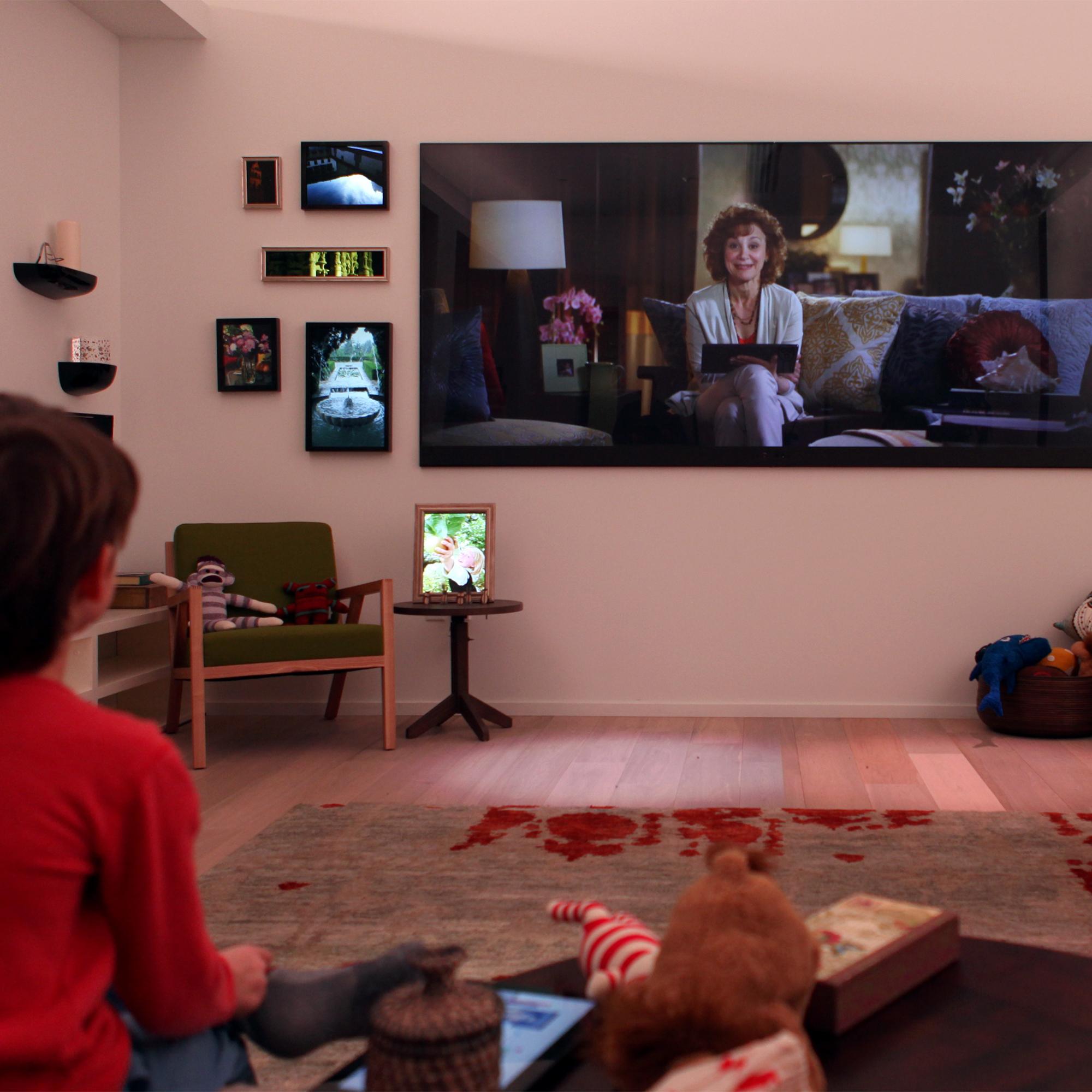 Interactive Storyworld at Microsoft's Envisioning Center
