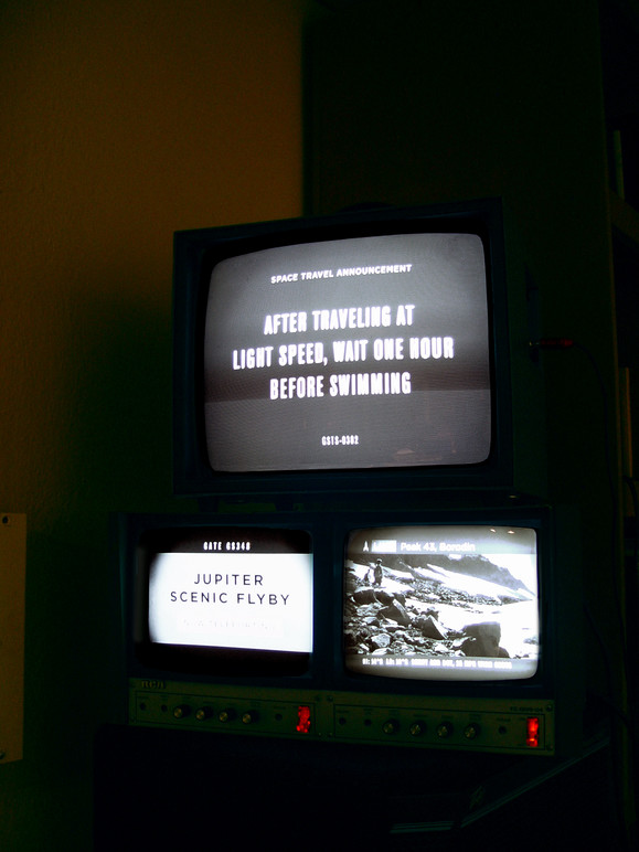 Ambient media displays (during prototyping).